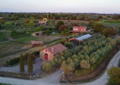 Vista aerea di Pian De' Somari